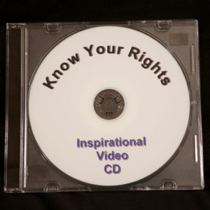 A copy of our 30 minute, thought provoking registration video